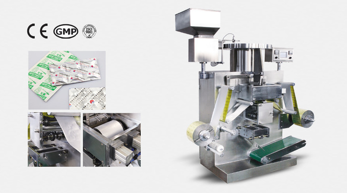 DLL-160C Auto Double Aluminum Strip Packaging Machine